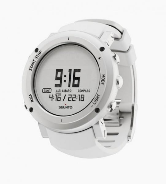 Core Alu Pure White 電腦腕錶 SS018735000