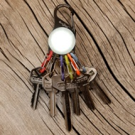 S-BINER 凱亮LED燈鑰匙扣 KRL
