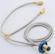 瓦斯桶雙孔轉接器ST-2003