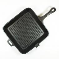 SQ方形鑄鐵長柄煎鍋 10.5吋 10108