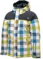 白混彩格 HF 童裝 透氣保暖外套 附帽 DBP015