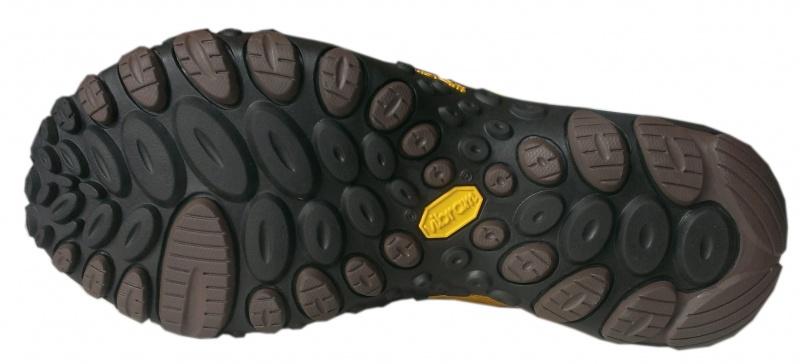 黃色 CHAMELEON II FLUX 男款健行鞋 21433