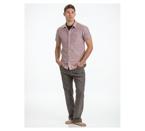 Chambray Modernist 男款短袖襯衫 505