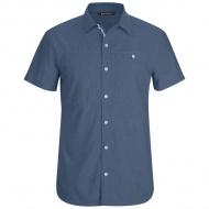 Chambray Modernist 男款短袖襯衫
