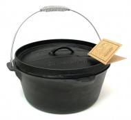 鑄鐵鍋-凹蓋平底12吋 10177