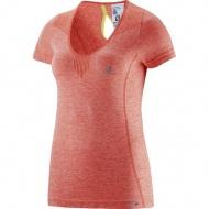 ELEVATE SEAMLESS TEE 女款彈性排汗T恤 372192