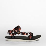 女款織帶涼鞋 小白花 1009277-PFLR