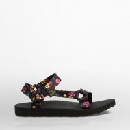 女款織帶涼鞋 黑 1009277-BLK