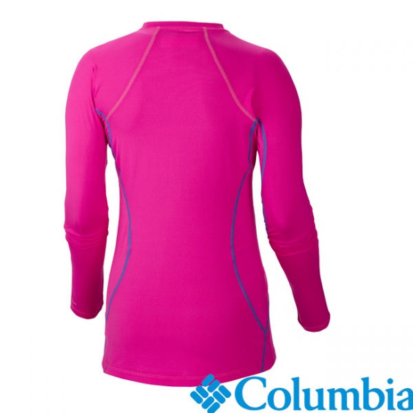 Columbia 美國 女長袖保暖快乾上衣 粉紅 66540-PK