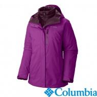 Columbia 美國 女兩件式羽絨外套 葡萄紫 71690-GT
