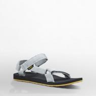 Teva 美國 男款戶外織帶涼鞋 花紗灰 1004006MDGR