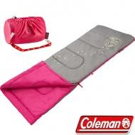 COLEMAN 美國 桃紅-夜光型兒童睡袋 CM-22263