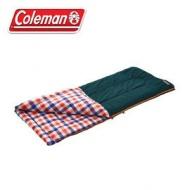 Coleman 5℃格紋刷毛睡袋 信封型睡袋 化纖睡袋 纖維睡袋 可全開 cm26649 cm26650