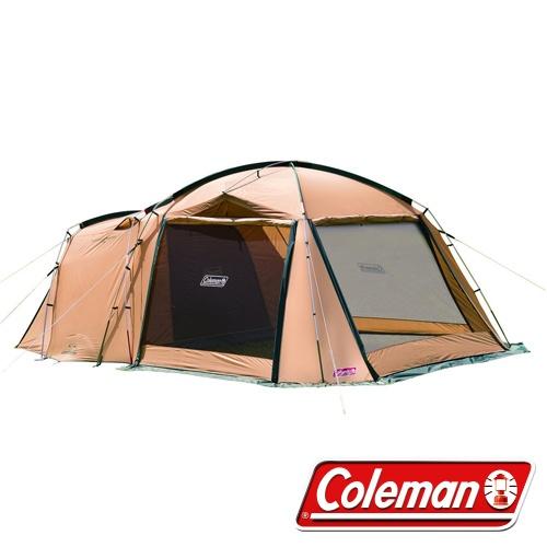 COLEMAN CM-31571 TOUGH SCREEN 2 ROOM 帳篷