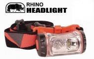 RHINO 犀牛 強力雙光源LED頭燈 工作燈 頭燈 露營燈 野營 HL-500