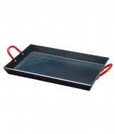 Coleman  美國 黑鐵煎盤/S 煎鍋 鐵板燒 適雙口爐 瓦斯爐 烤肉架 焚火台 CM-9423J
