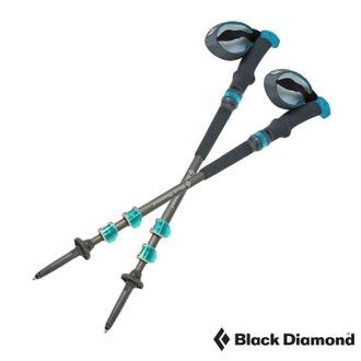 Black Diamond 女款Trail Pro Shock (單支) 避震登山杖/伸展長度62-125cm (支) /(健行爬山、鋁合金7075、快拆)-112149