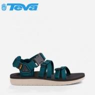 【TEVA】 男款 Alp Premier 經典設計織帶涼鞋 1015200 DPTL 深藍綠