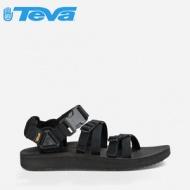 【TEVA】美國 男款 Alp Premier 經典設計織帶涼鞋 1015200 BLK 黑色