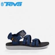 【TEVA】美國 男款 Alp Premier 經典設計織帶涼鞋 1015200 NAVY 海軍藍