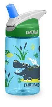 CAMELBAK 美國 兒童吸管運動水瓶 搖滾河馬 400ml CB1274403040