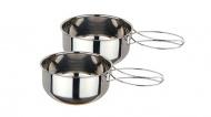野樂ARC-1562-2 兩人不鏽鋼套碗