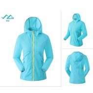 SUMMIT GG309 女式戶外休閒登山自駕遊皮膚衣-湖藍