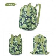 SUMMIT PG158兒童雙肩包-太陽花綠色