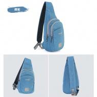 SUMMIT PG091 單肩休閒旅行包-鑽藍