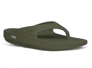 OOFOS M1000 男舒壓夾腳鞋-綠