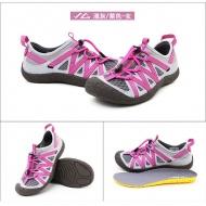 SUMMIT SG140 女款戶外溯溪鞋-淺灰/紫色