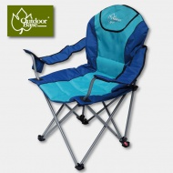 Outdoorbase 25230 太平洋。高背。三段式休閒椅 藍