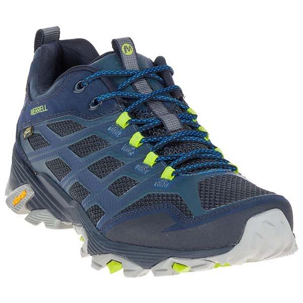 MERRELL 35767 男GTX低筒健野鞋-藍
