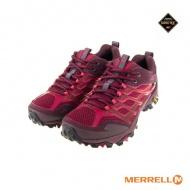 MERRELL ML37158 女GTX低筒健野鞋-酒紅