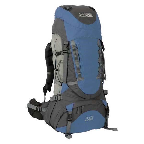 犀牛 G178 易調式背負系統包78公升(58+20)-藍/暗灰