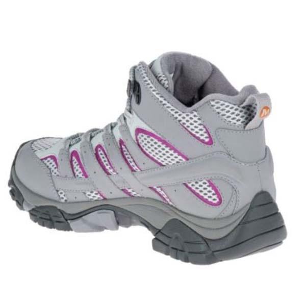MERREL ML06068 女中筒登山鞋(淺灰/紫)