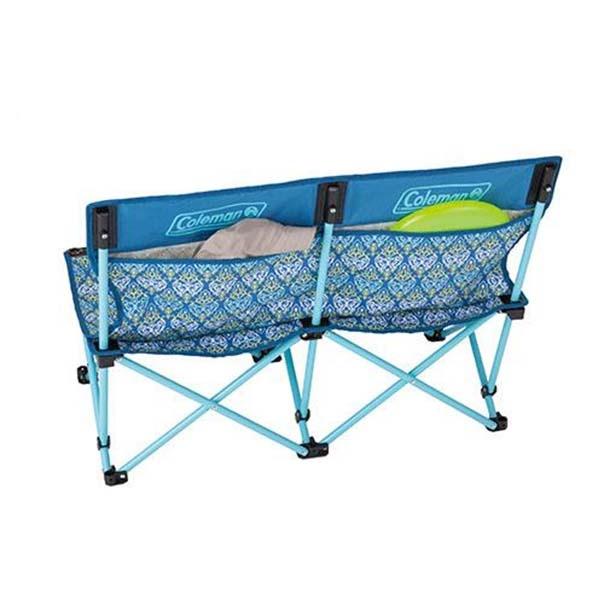 COLEMAN CM-22002 紅葉圖騰樂趣椅(雙人-藍)