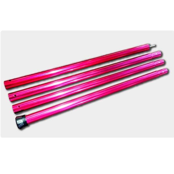 Outdoorbas 22024 鋁合金營柱 280cm(紅)
