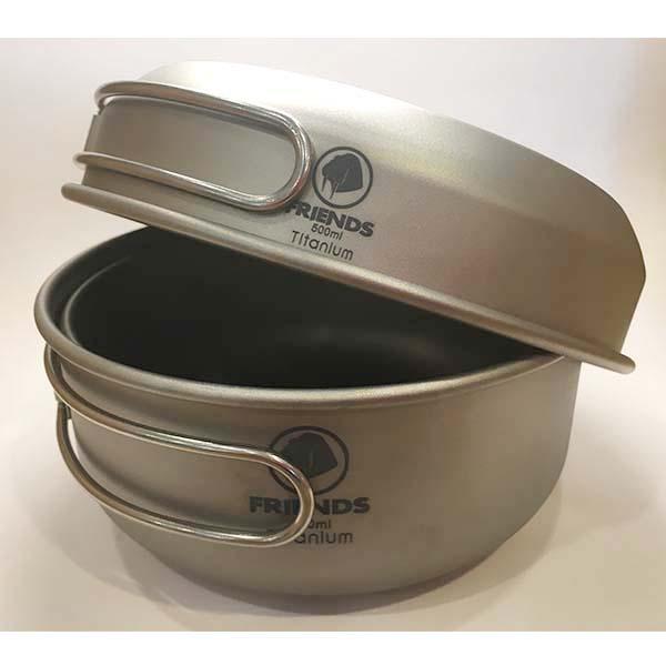 FRIENDS TGW-201 兩鍋一蓋鈦鍋
