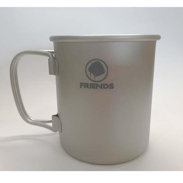 FRIENDS TB-220 摺疊鈦杯(單層不含蓋)