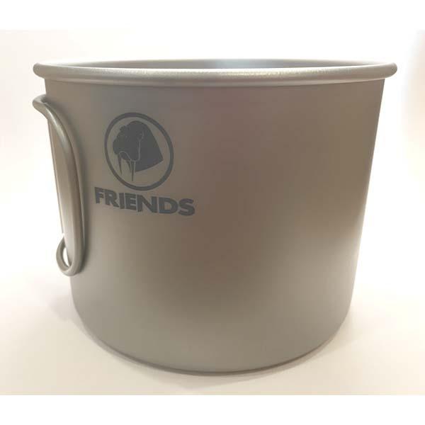 FRIENDS TB-900 摺疊鈦杯(單層)