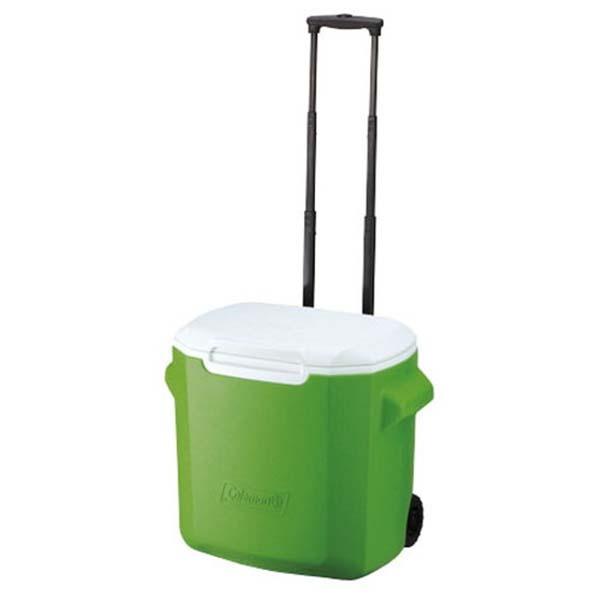 COLEMAN CM-0491 26.5L拖輪置物行冰桶-綠