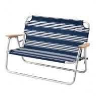COLEMAN CM-31287 輕鬆折疊長椅  經典條紋藍