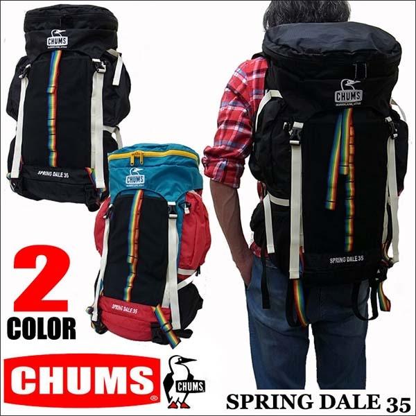 CHUMS 35L 登山包 CH60-2069 攻頂包 後背包