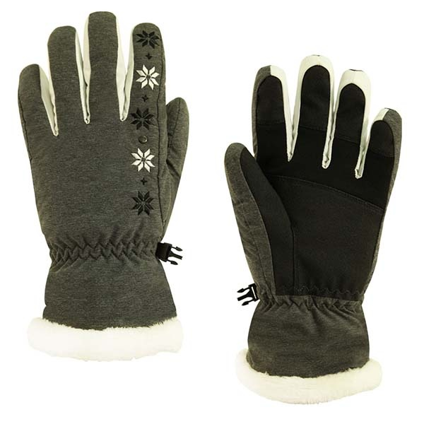 WELLFIT 滑雪手套 - 女款全指保暖手套-雪花 WF1500093