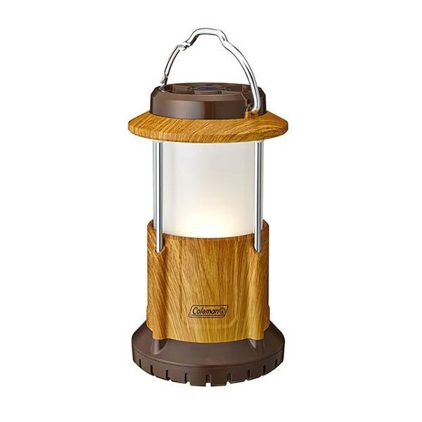 COLEMAN CM-31275 BATTERYLOCK PACKAWAY營燈-天然木紋