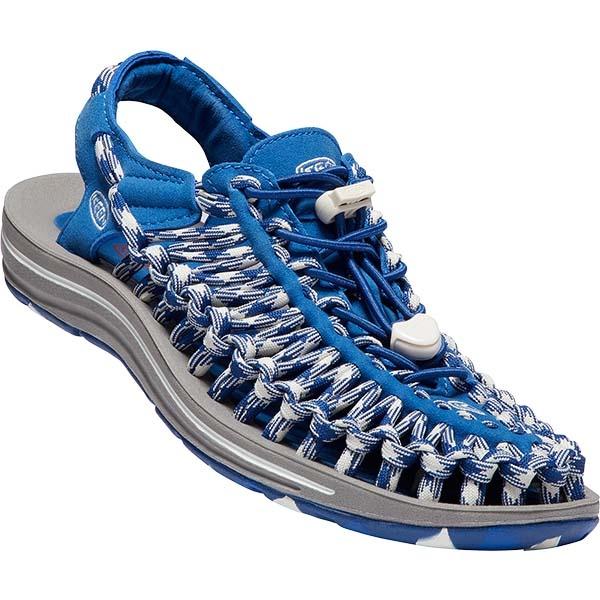 KEEN 1018702 女織帶涼鞋 寶藍 白 UNEEK