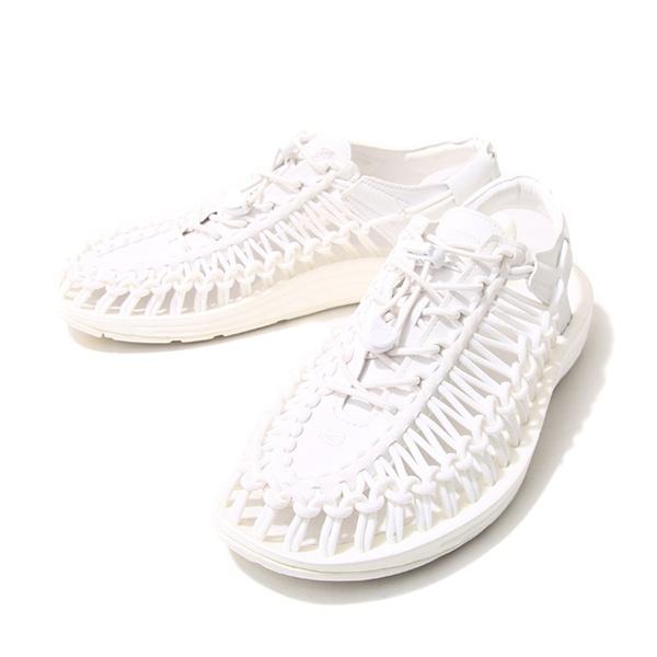 KEEN 1014100 UNEEK女織帶涼鞋 白