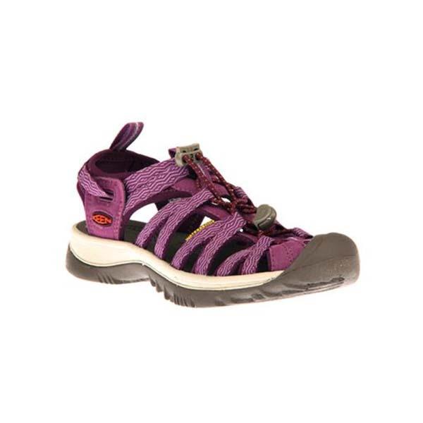 KEEN 1018229 女運動涼鞋 紫 灰