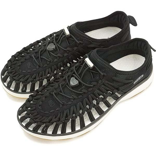 KEEN UNEEK女織帶涼鞋 黑 白 1017055